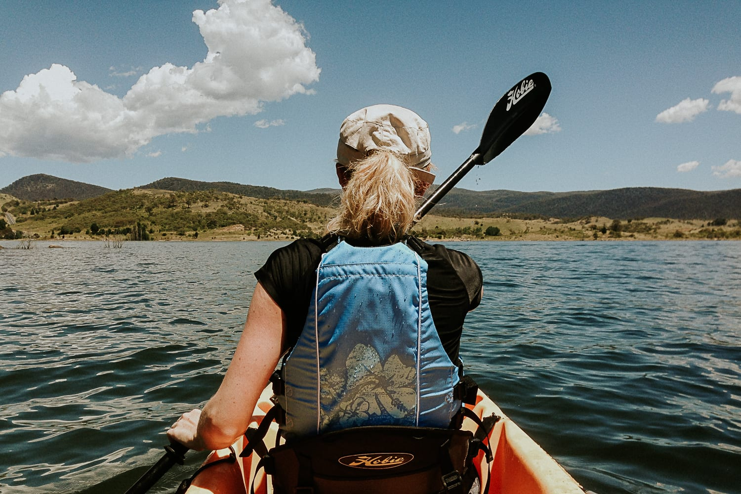 Adventures for a modern bride an include a range of outdoor fun like Kayaking