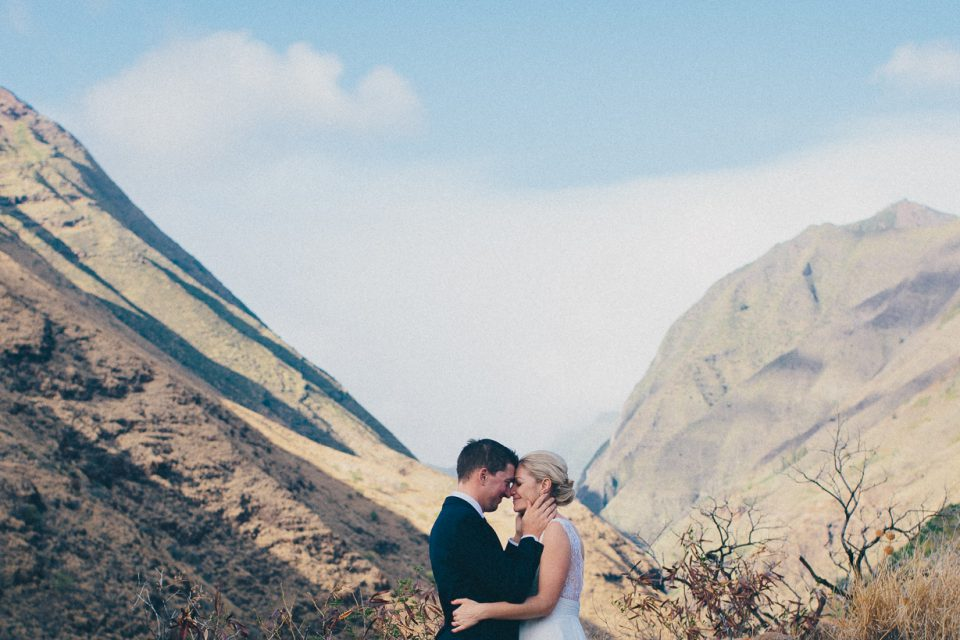 Ali + Jay / Destination Wedding, Maui