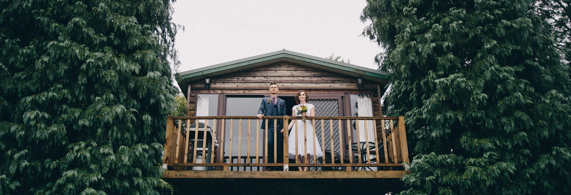The Blue Mountains makes a cool retreat for Anita and Brett's wedding