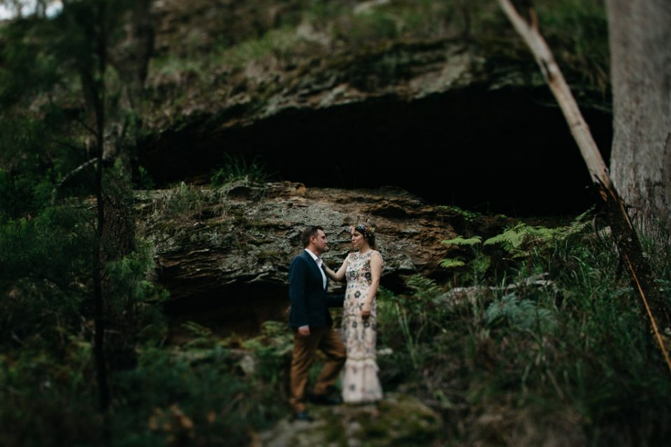 Simone and Charles on their Southern Highlands Wedding